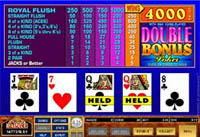 Video Poker Games at 32Red